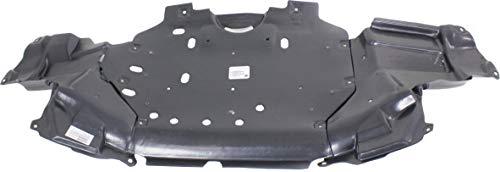 Garage-Pro Front Engine Splash Shield Compatible with 2015-2020 Honda Fit EX/EX-L/(DX/LX/SE Models Mexico Built)