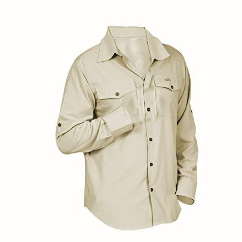 HECS Wildlife Safari Suit Shirt - Medium