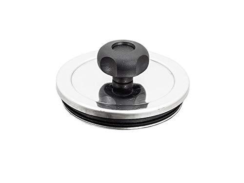 Tappo di ispezione per canna fumaria acciaio inox tappo di scarico di ispezione (D 80mm)