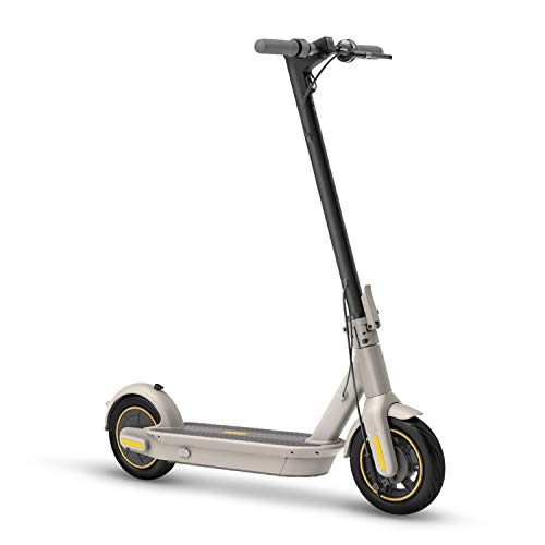 Segway Ninebot MAX G30LP Electric Kick Scooter, Up to 25 Miles Long-range Battery, Max Speed 18.6 MPH, Lightweight and Foldable, Gray