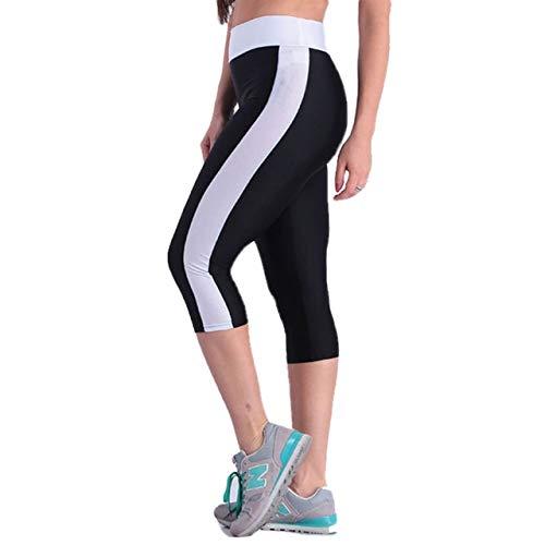 XYHJ Mujeres Sport Fitness Leggings Pantalones Side Puffs Elastic Hip Yoga Running Pant Medias Leggings Deportivos Gimnasio para niñas Tallas Grandes