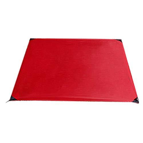 SFBBAO Picknickdecke Tragbare Tasche Camping Matte Klappmatratze Outdoor Ultra-dünn 150 * 180 cm Rot