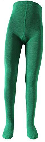 Shima Kinder Strumpfhose einfarbig Grün 122-128