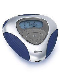 Digital Audio Player with 256MB Flash Memory and Digital FM Tuner