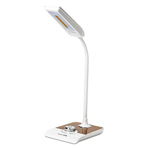 Lámpara de Escritorio Lámpara de lectura LED Desk dormitorio lámpara del trabajo de oficina Smart Touch Plug-in de radio de la lámpara, conveniente for el dormitorio y el Estudio Flexo de Escritorio