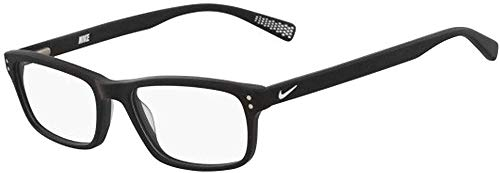 Nike Damen 7237 Sonnenbrille, Matte Black/White, Standard