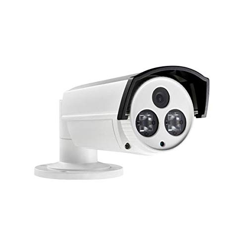 3MP PoE Security IP Camera - Compatible with Hikvision DS-2CD2232-I5 Bullet,Indoor and Outdoor,Weather Proof,IR Night Vision, 4mm Lens,Best for Home and Business Security,3 Year Warranty