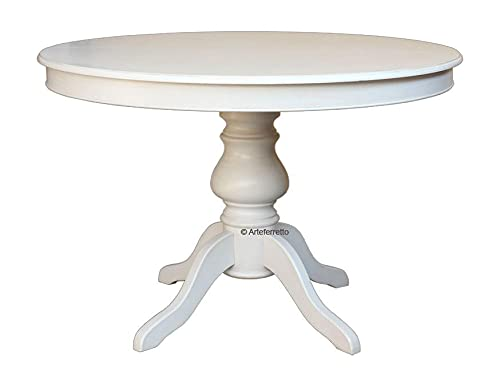 Arteferretto Table laquée Ronde avec allonge - diamètre 120 cm