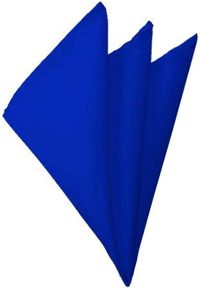Solid Finally popular brand Royal Blue Handkerchief Max 59% OFF