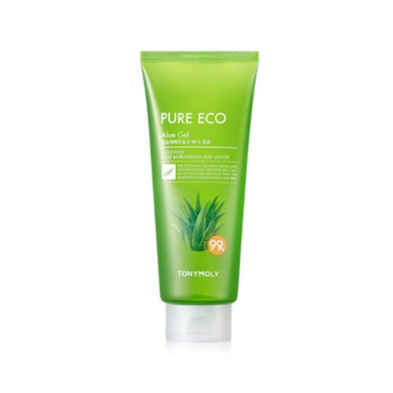 礼儀放送スキルTONYMOLY Pure Eco Aloe Gel (Tube) (並行輸入品)