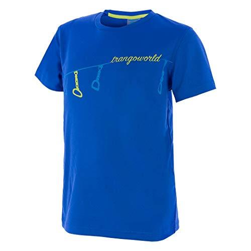 Trangoworld Sabaris T-Shirt Unisexe Enfant, PC008037-460-04, Bleu, 04/XXS
