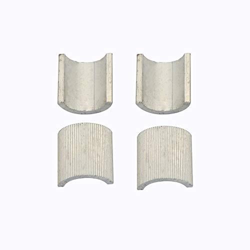 Triamisu - Juego de 4 soportes para manillar de bicicleta (7/8 pulgadas)