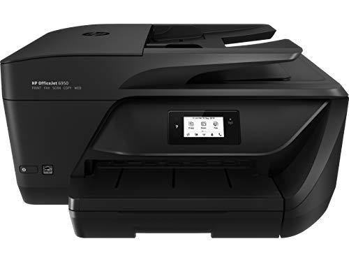 HP OfficeJet 6950 P4C85A Stampante Multifunzione A4 a Getto di Inchiostro, Stampa, Scansiona, Fotocopia, Fax, Wifi, HP Smart, Stampa fronte/retro automatica, 2 Mesi di Instant Ink Inclusi, Nero