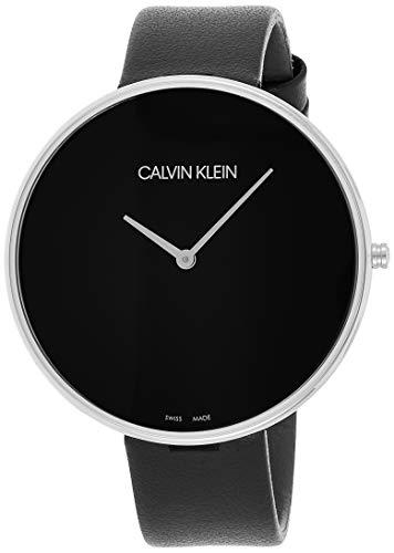 Calvin Klein Reloj Analógico para Mujer de Cuarzo con Correa en Cuero K8Y231C1