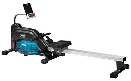 BODYCOACH Wasser-Rudergerät Rower Deluxe Ruderzugmaschine Wasserwiderstand & 5fach Verstellbarer Zugwiderstand