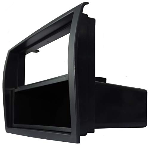 AERZETIX: Marco adaptador 1 y 2DIN cubierta plástica moldeado para el cambio de autoradio original con un radio estándar del coche vehículos automóvil