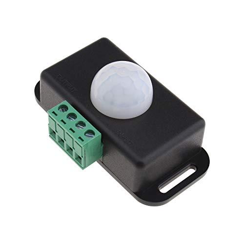 Sensor de movimiento infrarrojo detector PIR controlador de rayos infrarrojos cuerpo humano inductor LED tiras iluminación 12 V 24 V