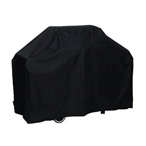 SIRUITON Grillabdeckung, Grill Abdeckhaube Oxford Polyester Wasserdicht UV-beständig BBQ Schutzhülle schwarz (170x61x117CM)