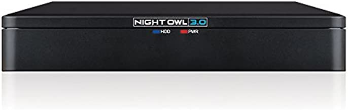 Night Owl 8 Channel HD Wired Video Security DVR with 1TB Hard Drive, Black
