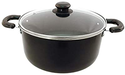 Euro-Ware Dutch Oven, Medium/5 quart, Black