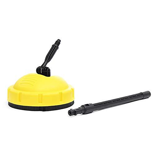 Limpiador a presión con cepillo giratorio para superficies de cubierta, limpiador de terraza, con adaptador para Karcher K