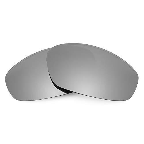 Revant Ersatzgläser Kompatibel mit Oakley Whisker, Polarisiert, Elite Titan MirrorShield
