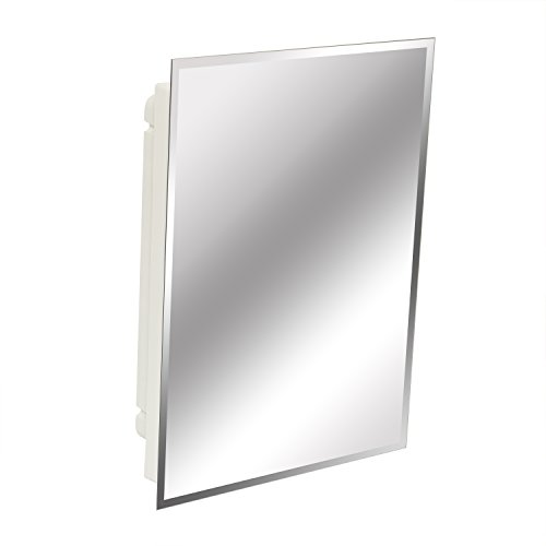 American Pride 9622WBAR12 – Recessed Frameless Beveled Polished Edge Mirror Medicine Cabinet 16' x 22'