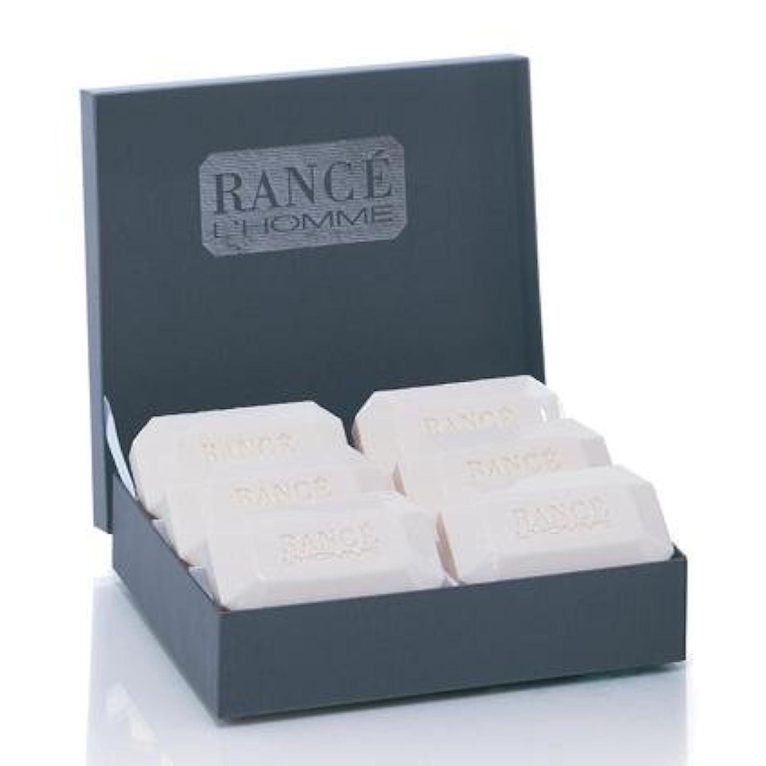 適合する餌天皇Rancé L'Homme Soapbox(ランセ ロム ソープボックス)6 x 100g [並行輸入品]
