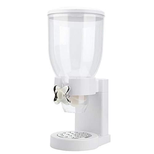 Dispensador de alimentos secos de una sola cabeza, dispensador de máquina de dulces de avena y cereales, control único, almacenamiento de cereales para la cocina doméstica