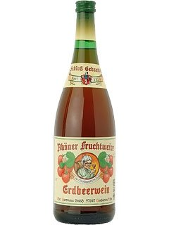 Rhöner Fruchtwein Erdbeerwein 1,0 L