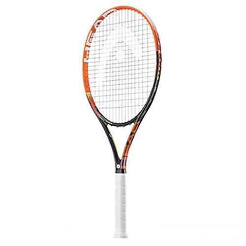 Raquetas De Tenis Carbono Completo para Hombres Y Mujeres Individual para Hombres (Color : Pink, Size : 69cm/27 Inches)