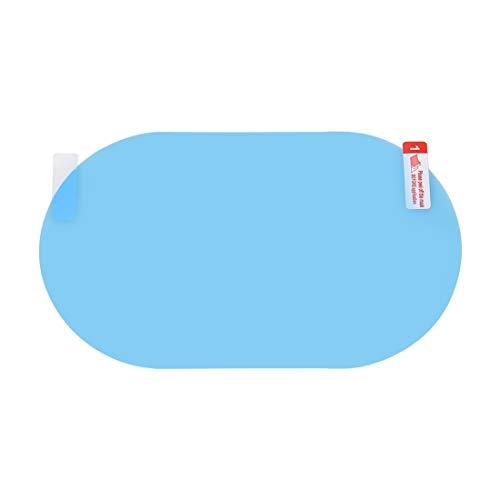 BEIJING CAR-Film/Auto oval pet spiegelschutzfenster transparent Anti-Nebel wasserdicht Regen Film, größe: 11 x 16 cm