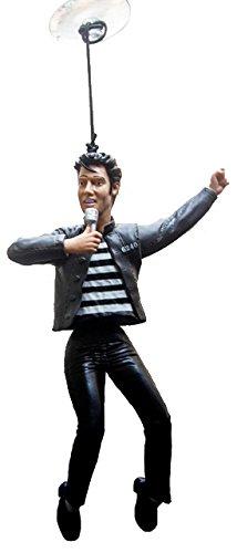Wackel Elvis für´s Auto im Jail House Look (1)