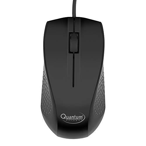 Quantum QHM7710 Multimedia Combo Wired USB Multi-Device Keyboard (Black)