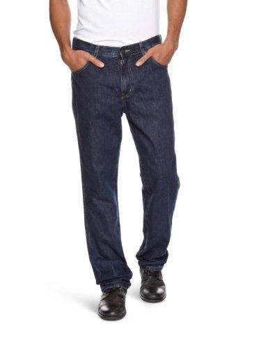 Wrangler Texas Stretch Herren Jeans, Regular Fit, Blue (DARKSTONE), Gr. W44/L34