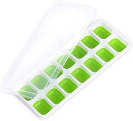 HTL Qualité Alimentaire Moule Ice Cube Outilllage Ice Cube Tray Bar Accessoires de Cuisine Choix: Couleurs Aléatoires