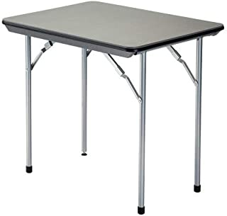 KingCamp Table Pliante en Bambou /à Hauteur r/églable avec rev/êtement Anti-UV pour 4 /à 6 Personnes Bureau 120 /× 80 cm, 120 /× 70 cm, 100 /× 72 cm