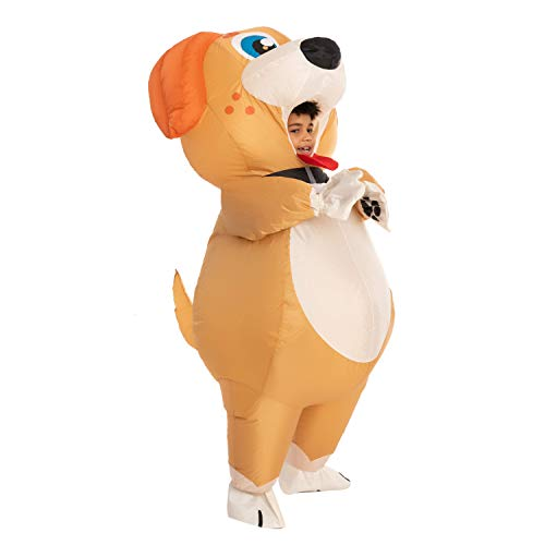 Spooktacular Creations Child Unisex Puppy Full Body Inflatable Costume (7-10 yr)