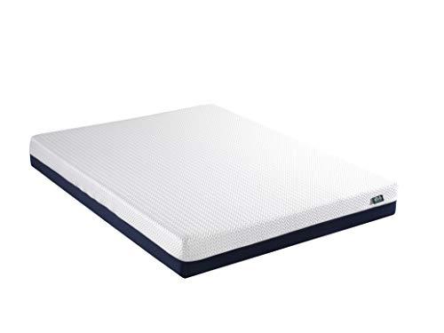 mr.sleep | Copper Hybrid Matratze Visco-Schaum, mit Memory Foam Härtegrad 4, atmungsaktiv und kühlend und antibakteriell | 90 x 200 cm