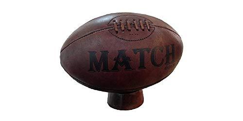 Ram Vintage Lederen Erfgoed Rugby Bal en Stand Rugby - Traditioneel Cadeau, Trofee & Award Presentatie Bal en Stand