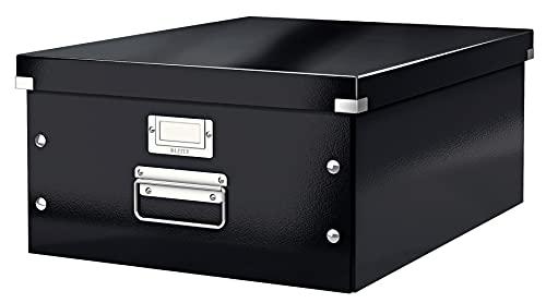Leitz Caja de Almacenaje A3, Gama Click and Store 60450095 - Grande, Negro
