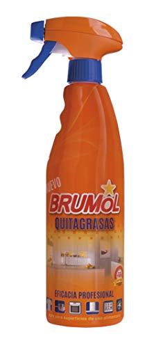 Brumol Quitagrasas con Pistola - Paquete de 15 x 750 ml - Total: 11250 ml