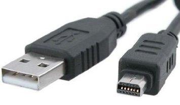 Cable USB de alta calidad para cámaras digitales Olympus