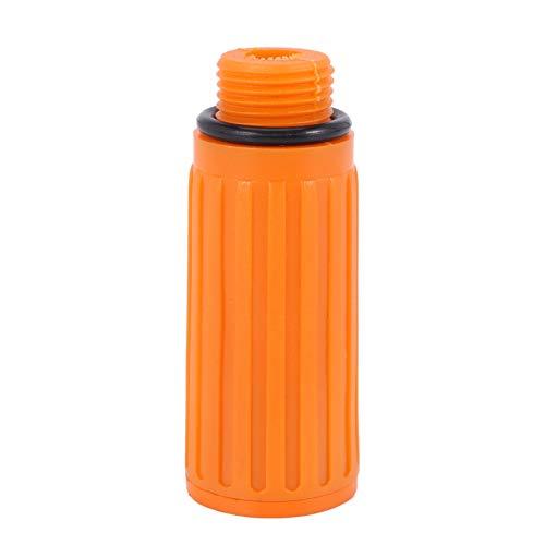 TEEAN TapóN de Aceite de PláStico con Rosca Macho de 16 Mm para Compresor de Aire Naranja