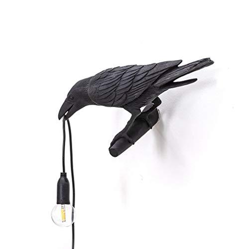 DYJD Verwarmingsvolle vogel wandlamp tafellamp industriële wandlamp vogellamp woonkamer restaurant bar café decoratie wandlamp