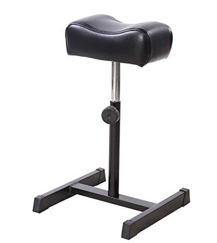 Stuhl, maniküre stuhl, Höhenverstellbar Nagel Fußstütze für Fußpflege, Beinauflage, Füße behandeln(Schwarz)