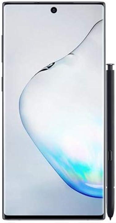 Samsung galaxy note 10 dual sim 256gb 8gb ram sm-n970f/ds aura nero 8806090035852