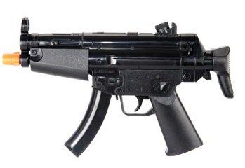 HFC Softair Pistole HB102 Mini Voll Automatisch Elektrisch schwarz ABS unter 0.5 Joule 0.12g Hop Up ab 14 Jahre Softair-Gewehr Kinder-Gewehr Air-Soft