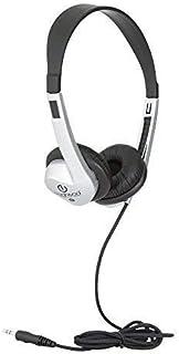 Egghead EGG-IAG-1008FA-BK-SO-20 Heavy-Duty Stereo School Headphones W/Leatherette Ear Cushion & Tangle-Free Cord- (Pack of...