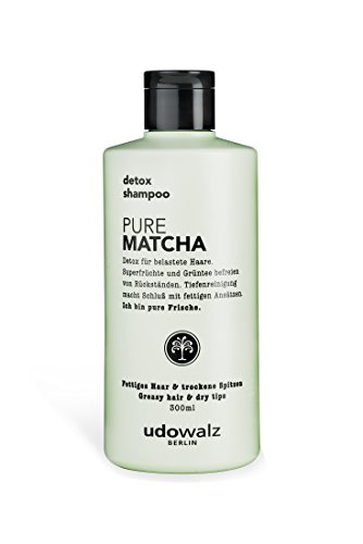 Udo Walz Hairfood Detox-Shampoo Pure Matcha, 1er Pack (1 x 300 ml)